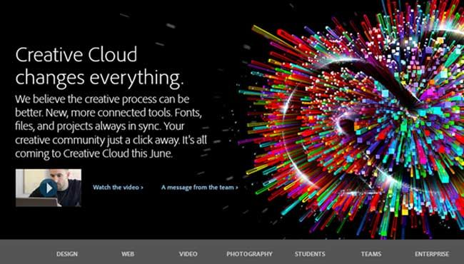 Stop Pirating Photoshop And Pay $49.99 Monthly, That's Adobe's New Plan For Creative Cloud