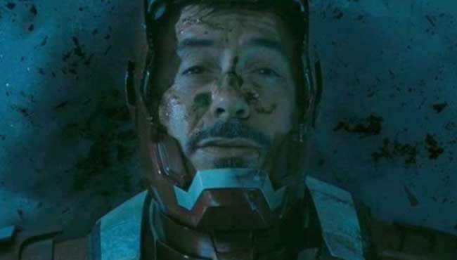 Tony Stark has seen better days.