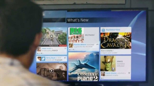 PS4 New UI Shown Off, Facebook Called, They Want their Design Back [VIDEO]