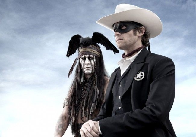 'The Lone Ranger' Review:  A Delightfully Demented Western