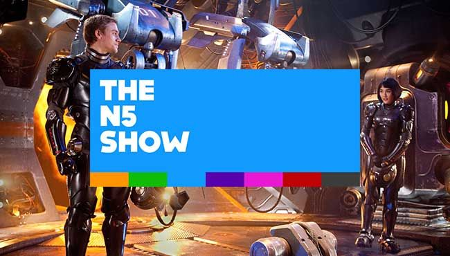 The N5 Show: Week #29, 2013 – Pacific Rim! Movies, Movies, Movies!