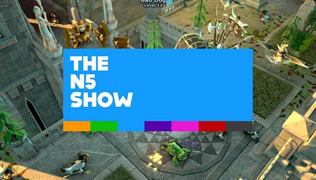 The N5 Show: Week #32, 2013 – 'The Mighty Quest For Epic Loot'! and 'Animal Crossing: New Leaf'!